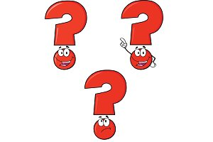Red Question Mark Collection