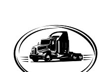 semi truck, delivery, shipping