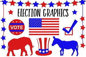 Election Vector Graphics