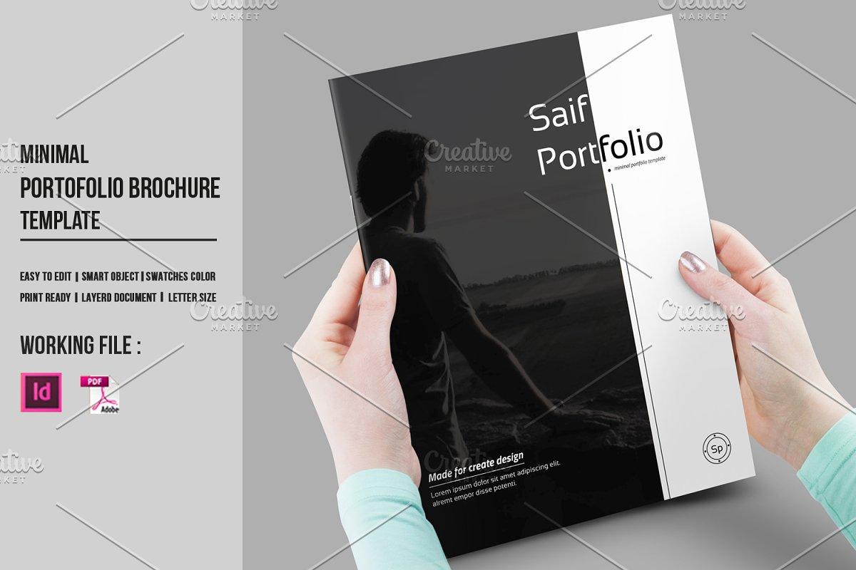 InDesign Portfolio Brochure-V430 ~ Brochure Templates