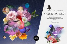 Space Botany. Collage Creator by  in Graphics