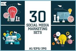 Social Media Marketing Sets Vol - 1