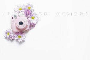 Styled Stock - Pink Polaroid