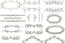 Hand draw frames. vol 1.