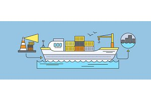 Freight Forwarding by Sea