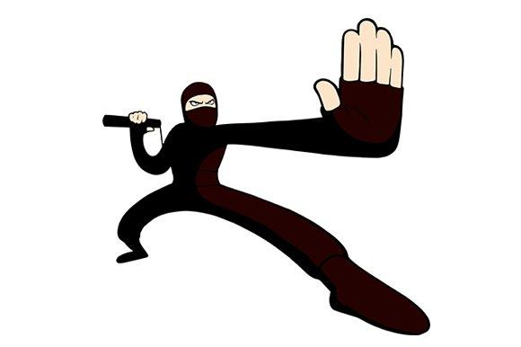 Ninja in Illustrations
