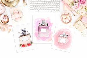 Custom perfume bottles
