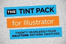 Halftone Illustrator Tint Pack