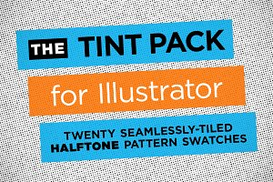 Halftone Illustrator Tint Pack