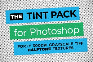 Halftone Photoshop Tint Pack