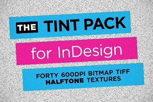 Halftone InDesign Tint Pack