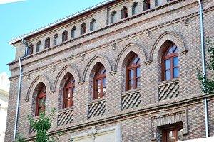 balconies and bricks