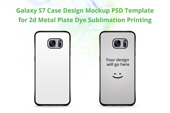 Free Galaxy S7 2d IMD Case Mock-up