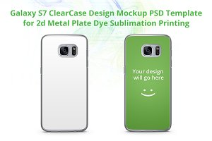 Galaxy S7 2d ClearCase Mock-up