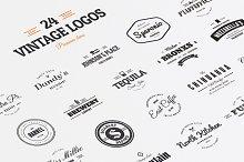 24 Vintage Logos & Badges Vol. 1