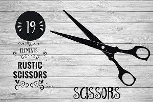 Rustic Scissors