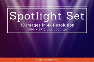 Spotlight Backgrounds Set