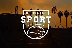 10 logo badges sport