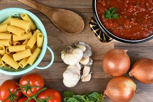Italian Meal Ingredients