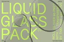 Liquid Glass Texture Pack by  in Graphics