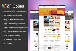 ZT Colias ecommerce joomla template