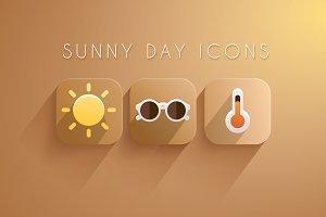 11 Sunny Day Icons