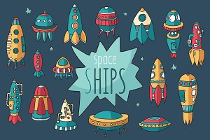 Spaceships set + pattern