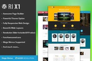 RI X1 creative wordpress theme