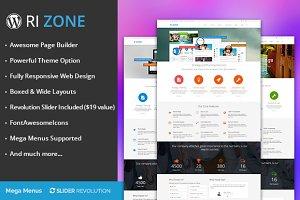 RI Zone multipurpose wordpress theme