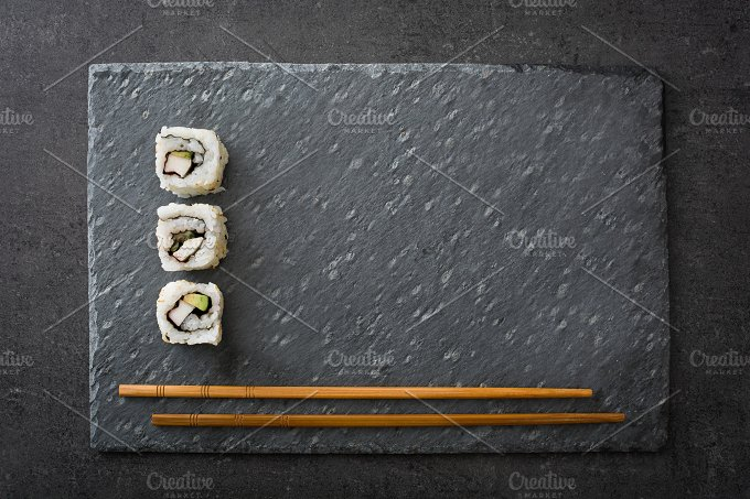 Sushi. Japanese food - Food & Drink