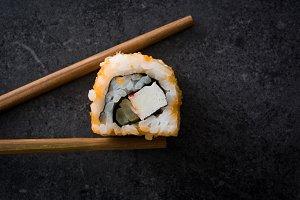 Sushi. Japanese food