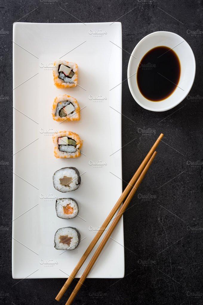 Sushi. Japanese food - Food & Drink
