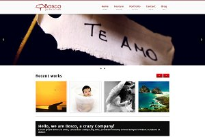 Bosco - multipurpose Portfolio/Blog