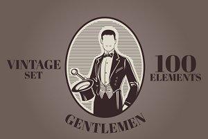 100 Vintage Gentleman Elements
