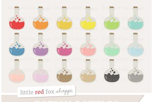 Potion Bottle Clipart