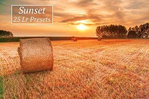 25 Sunset Lr Presets