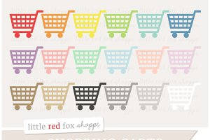 Shopping Cart Icon Clipart
