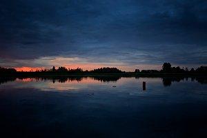 Mazury sunset #1