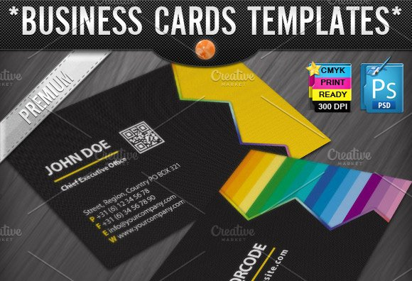 zigzag quick response business cards - Quick Business Cards