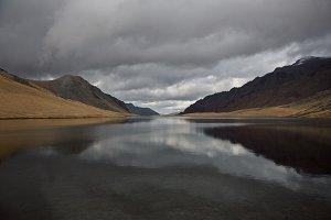 Lake in mountains of Caucasus #7