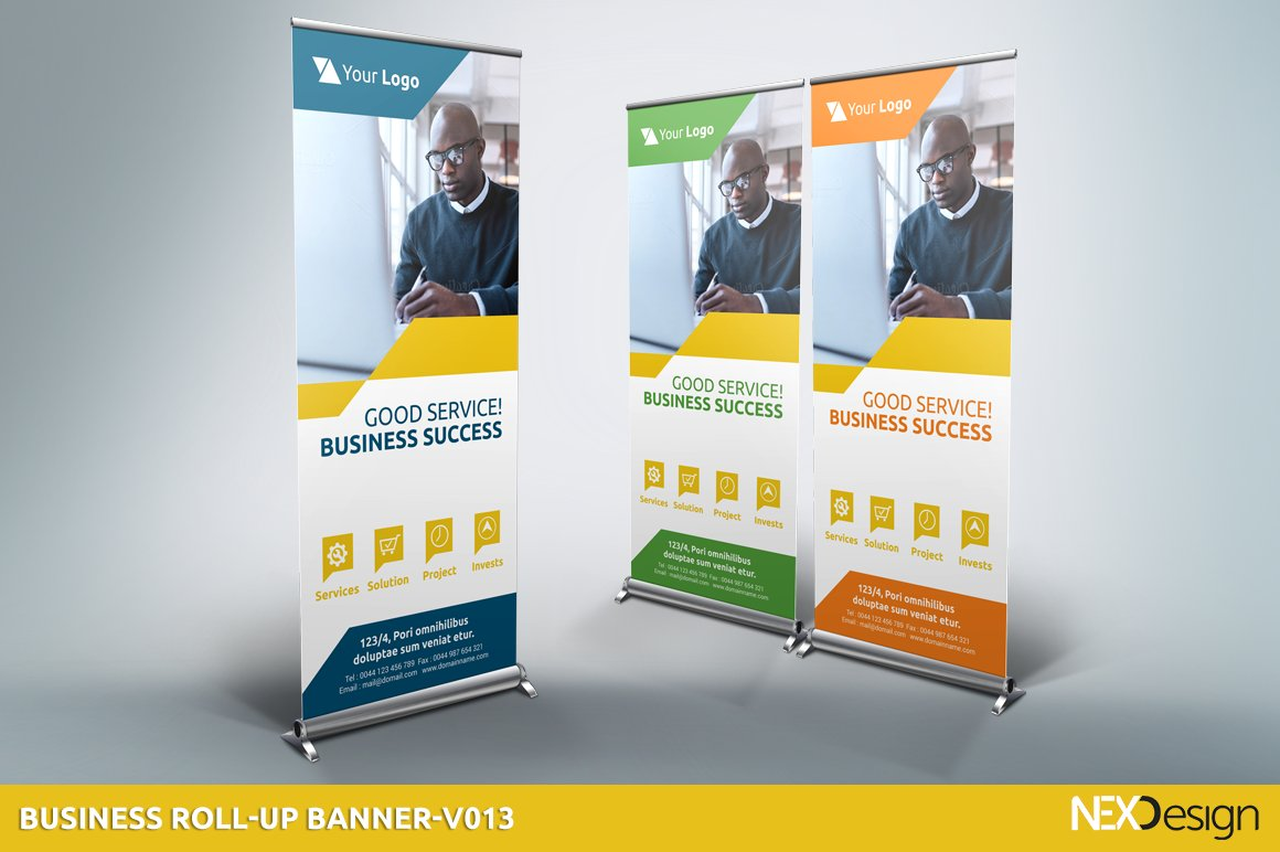 business roll up banners sb