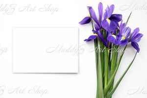 Spring flowers Mockup #3