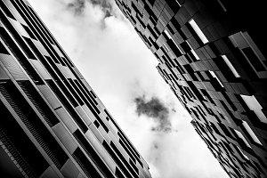 Modern building in Oslo
