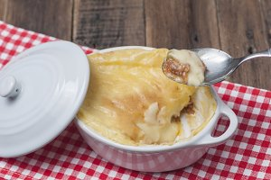 English style cottage pie