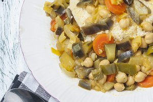 cous cous with Moroccan style