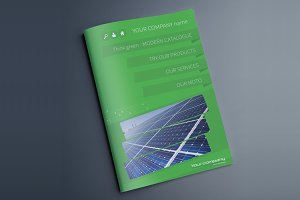 Indesign Multipurpose Green Catalog