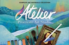 Atelier Art Brush Collection by  in Add-Ons