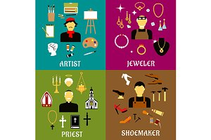 Jeweler, shoemaker, artist, priest