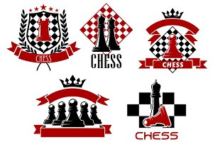 Chess icons and symbols