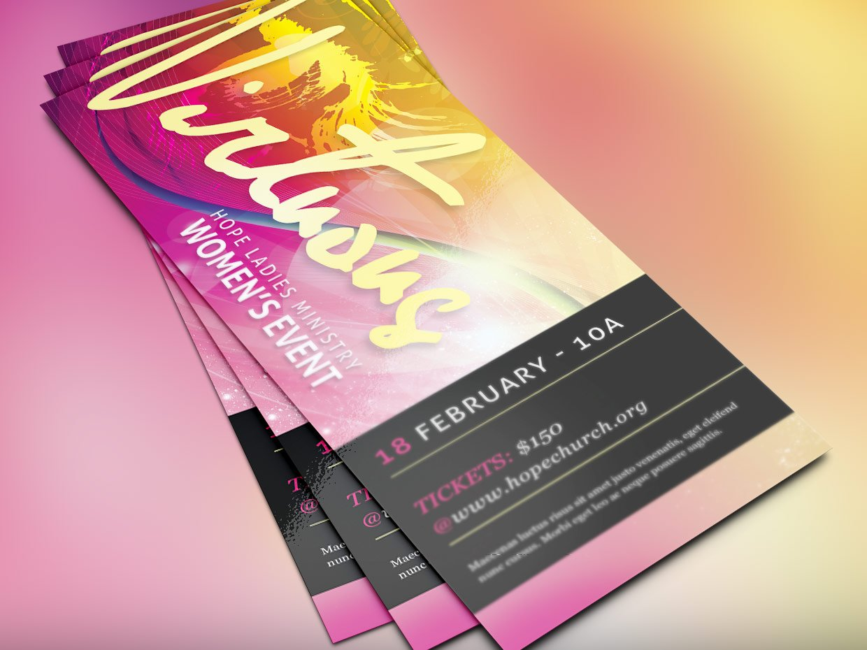 women conference flyer templates | goseqh.tk